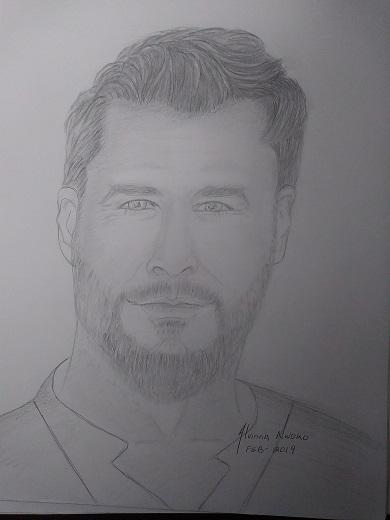 Chris Hemsworth by Vinna